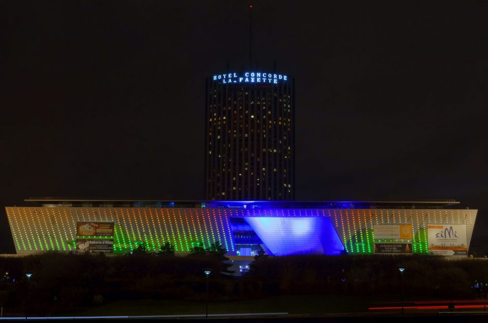Caribou concept illumine le Palais des Congrès